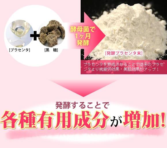 発酵することで各種有用成分が増加!